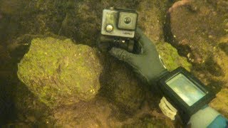 Found Lost GoPro Underwater in River While Scuba Diving! (Found 4 Years Later)