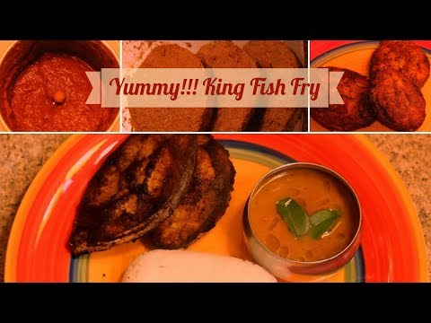 Crispy Vanjaram/ King Fish Fry