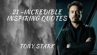 Download Tony Stark Inspiring Quotes #tonystark #Avengers #Ironman Video