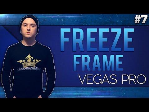 Sony Vegas Pro 13: Freeze Frame - Tutorial #7