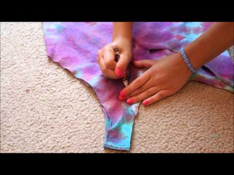 DIY: Turning t-shirts into tank tops