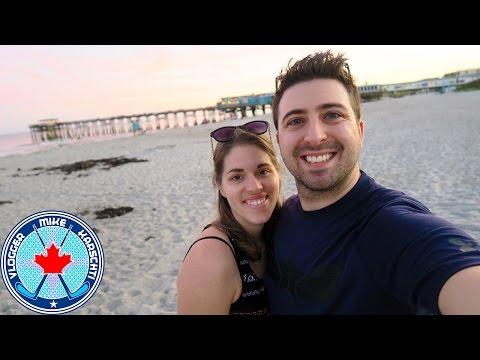 COCOA BEACH PIER!!! RON JON SURF SHOP!!! FLORIDA VACATION!! JAN 4 ,2017
