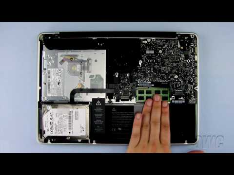 13-inch MacBook Pro Mid 2010 Memory Installation Video