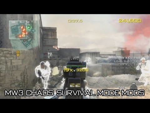 MW3 Chaos Mode USB Mods - How to Download, Install and Use the MW3 Chaos Mode Mods