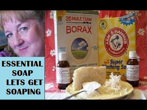 How to Make Homemade Laundry Detergent, Lye Soap, from Scratch, Powder, Recipe