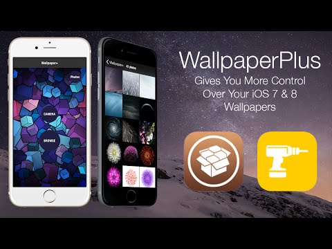 WallpaperPlus: Gives You More Control Over Your iOS 7 & 8 Wallpapers