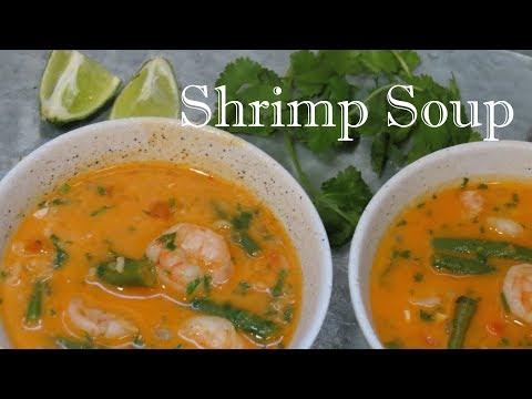 Thai Coconut Shrimp Soup | The Frugal Chef