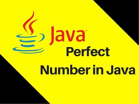 5.15 Perfect Number in Java