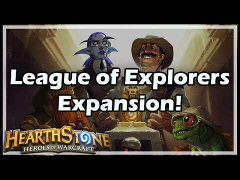 [Hearthstone] League of Explorers Expansion