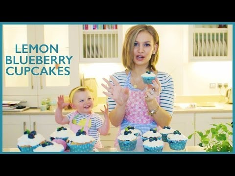Lemon Blueberry Cupcakes!