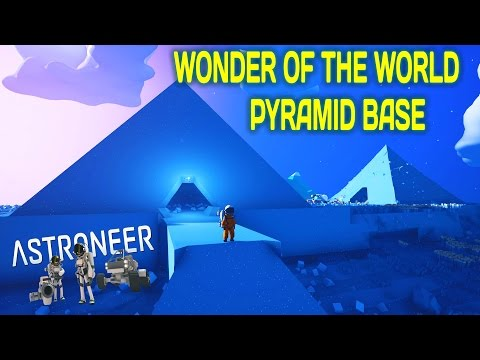 HOW TO BUILD A PYRAMID BASE - Astroneer