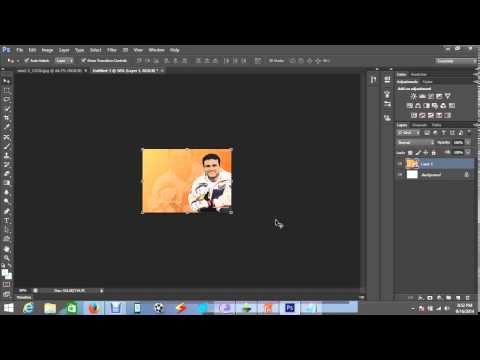 The Best Way Of Remove or Change Background In Photoshop CS6