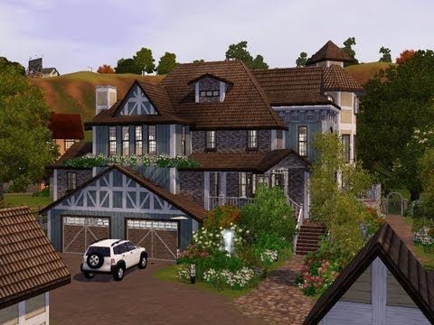 The Sims 3 - Building a victorian ranch