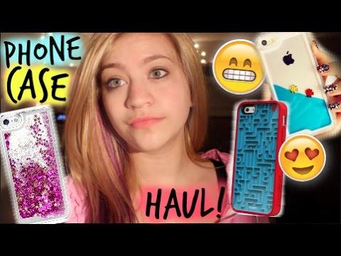 Phone Case HAUL!! (iPhone 5 & 6 PLUS)