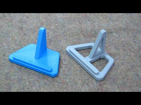 Tablet Stand - 3D Printer Versions