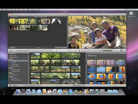iMovie '09 - Adding Transitions between Clips