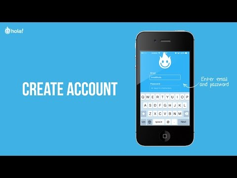 Hola Privacy VPN - Create Your Account