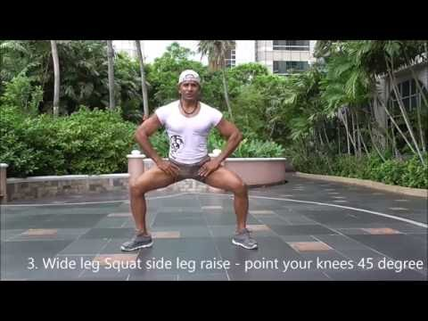 7 MINUTE TO LEAN AND FIRM LEGS WITH KAMALS  KRIYOGA