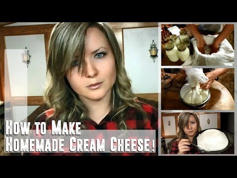Easy Homemade Cream Cheese!