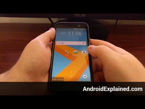 HTC 10 Safe Mode
