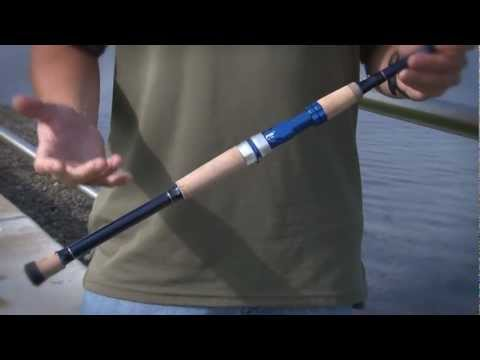 Okuma Fishing Tackle, Nomad Saltwater Travel Rods.mov