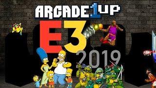 Arcade1Up CES Reveals - Hidden Gems & NBA Jam! - Vidly xyz