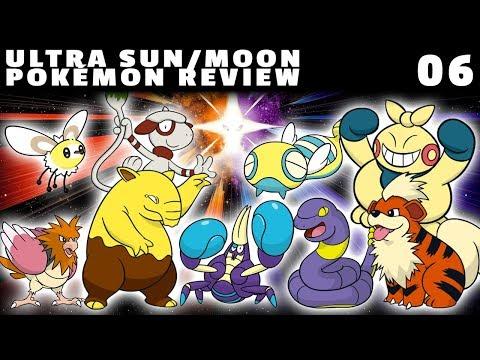 Ultra Sun/Moon Pokémon Review: Route 2 (Makuhita, Growlithe, Crabrawler & more!)