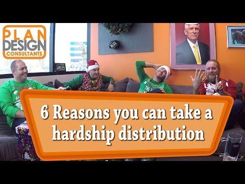401k Hardship Distribution - 6 reasons quiz