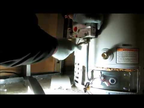 40 gallon waterheater gas valve replacement