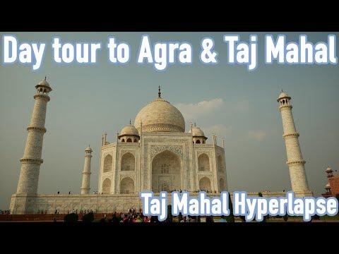 Taj Mahal Visit from Delhi to Agra by Train - Vlog by Benjamin Tripdayz