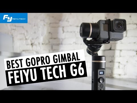 BEST GoPro HERO6 Gimbal | FeiyuTech G6 Review | RehaAlev