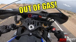 Will MAXY make it? Los Angeles to Las Vegas Motovlog