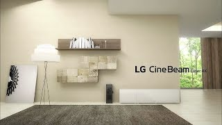[LG CineBeam Laser 4K] Most Transformative 4-in-1 4K Laser Projector – Features you should know
