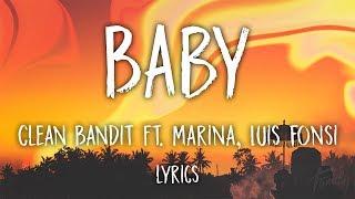 Baby clean bandit lirik