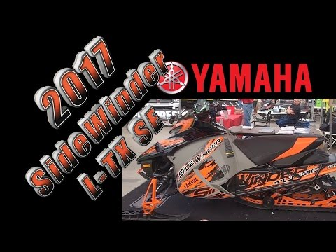 2017 Yamaha SideWinder L TX SE at 2016 Rochester Snow Show