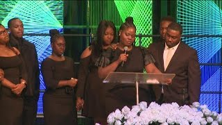 Friends, family say tearful goodbye to Alexis Crawford at funeral