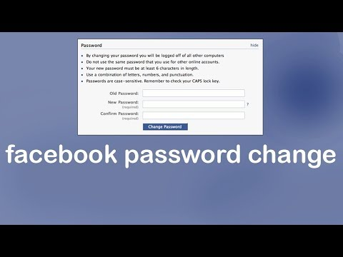 How To Change Your Facebook Password Without Email