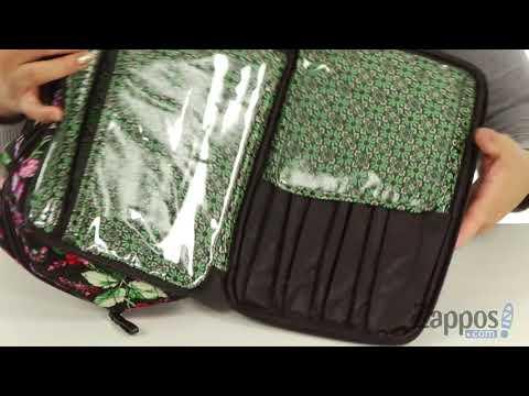Vera Bradley Luggage Iconic Large Blush & Brush Case SKU: 9001077
