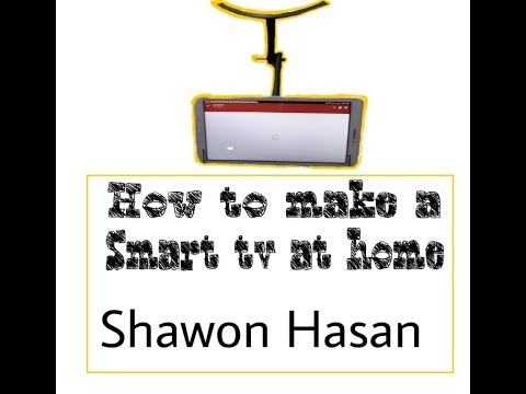 16 ||How to make a Smart  TV at home  || Simple life hack || Shawon Creation