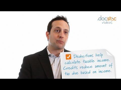 Learn the Basics of Tax Credits