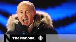 Russian election: President Vladimir Putin wins another term