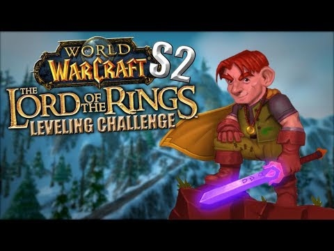 The Lord of the Rings WoW Leveling Challenge (Season 2): Episode 2 - I ALMOST DIED!