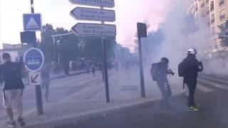 صدامات في باريس على هامش تظاهرة ضد عنف الشرطة والعنصرية…