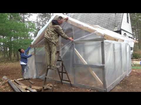 Homestead Life ~ Finishing Greenhouse & Preparing Herb Garden