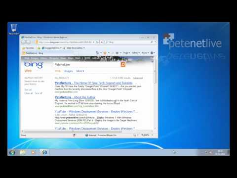 Windows 7 Internet Search from the Start Menu