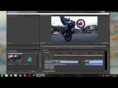 Slow Motion Effect - Adobe Premiere Pro CS6 Tutorial