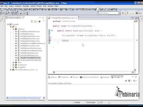 Write a program to find length of stringbuffer in java?