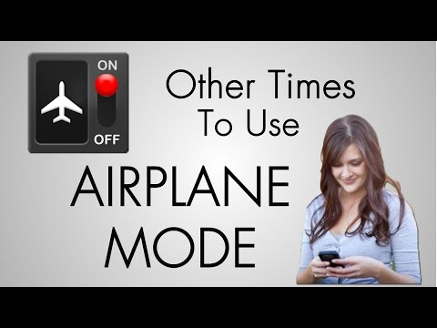 Other Times To Use Airplane Mode