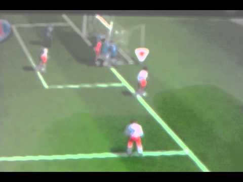 Fifa 12 psp glitch- funny players.