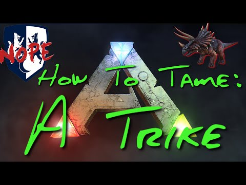 ARK: How to Tame a Trike! (Your Own Little Berry Collecting Machine!)